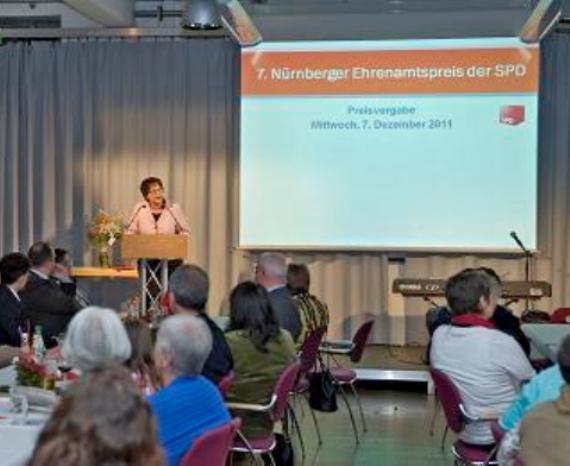 Verleihung 2011 – SPD Nürnberg